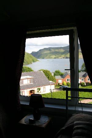 Dunborrodale B&B: the view from my room