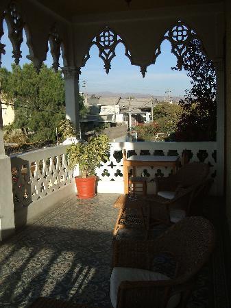 Posada el Castillo: Balcony View