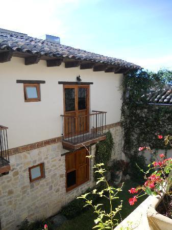 Hotel San Marcos: Vista al jardín