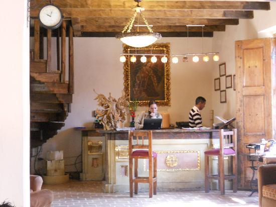 Hotel San Marcos: Recepción