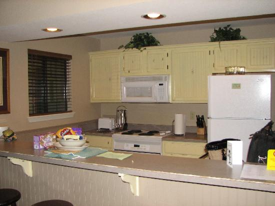 Silverleaf Holiday Hills Resort: kitchen area