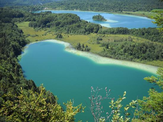 Hotel les Alpages: les lacs