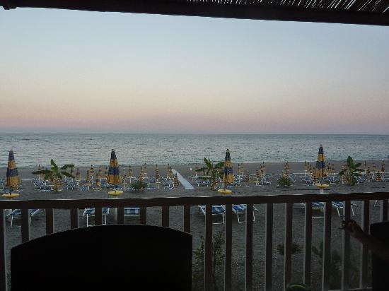Atahotel Naxos Beach: restaurant vue mer en chambre vilette superieur