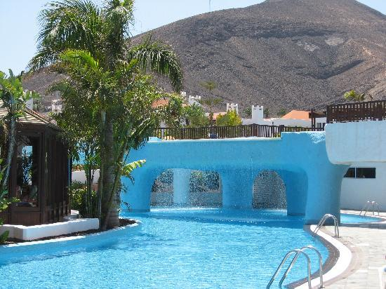 Pájara, Espagne : bar piscina + cascata