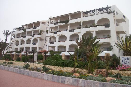 Hotel Riu Tikida Beach: hotel vue mer