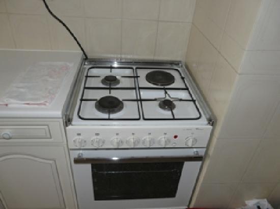 Maralvor: Cocina a gas y corriente