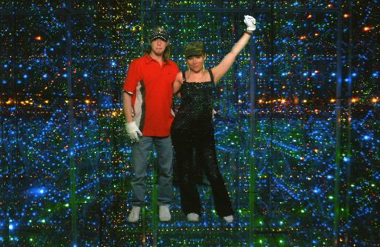Infinity Attraction: Me and my boyfriend on our first visit in2008