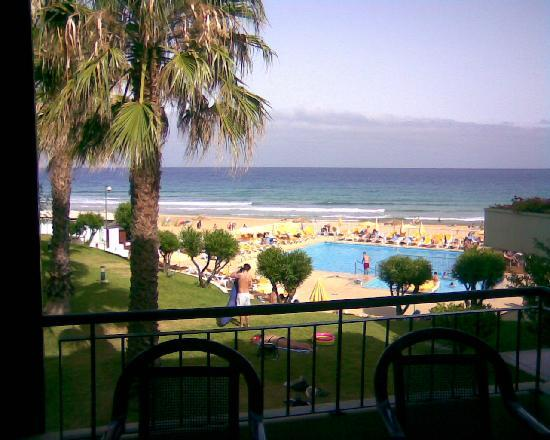 ApartHotel Luamar Porto Santo 2010: View from a room at seaside