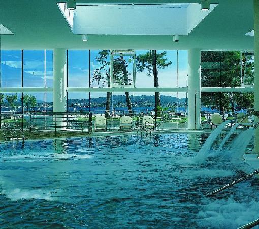 Hotel Eurostars Isla de La Toja: Piscina interior