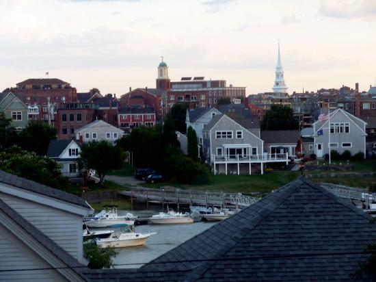 Portsmouth Harbor Inn and Spa: View from the Minx room