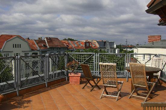 GOLD INN Alfa Hotel : Dachterrasse