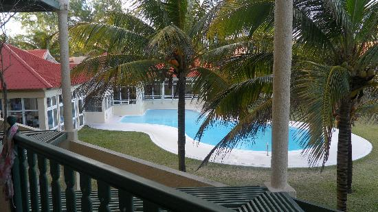 Silver Beach Hotel: View from room 203