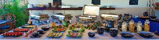 Beach Club Resort: Beach Club Buffet Breakfast