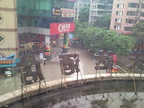 Yingshangtianda Guangzhou Guangyuan Xincun Jingtai Pedestrian Street: view from our room pic 1