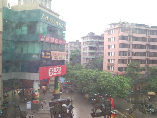 Yingshangtianda Guangzhou Guangyuan Xincun Jingtai Pedestrian Street: view from our room pic 2