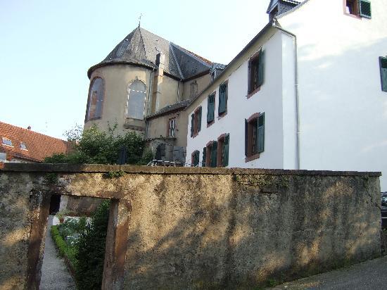 Sarreguemines, Frankreich: Côte jardin et bord de Sarre