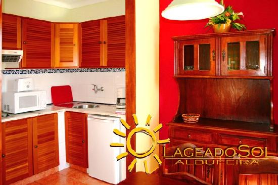 Lageado Sol: kitchen