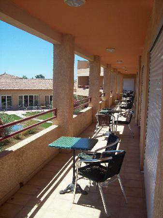 Pernes-les-Fontaines, Francia: Vue du balcon