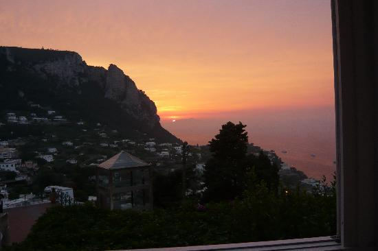 wenn die Sonne bei Capri..