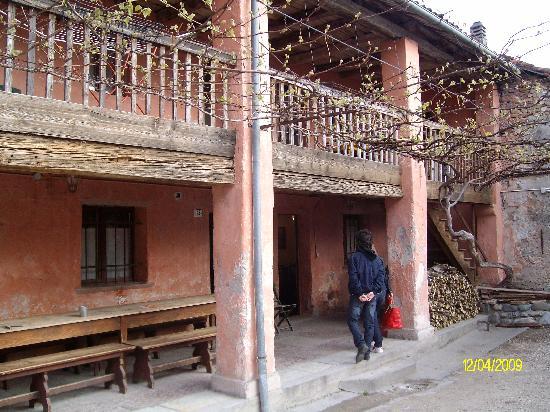 Agriturismo Casa de Bertoldi: L'ingresso al ristorante