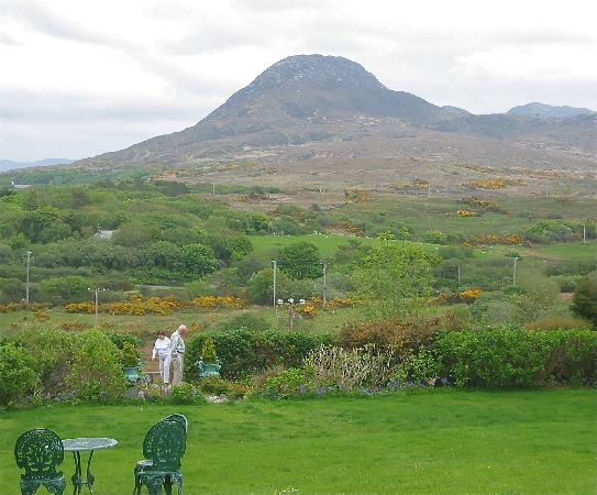 Letterfrack, Irlandia: Diamond Hill, Connemara NP
