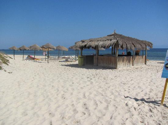 Garden Beach: Bar de la plage avec boissons à volonté