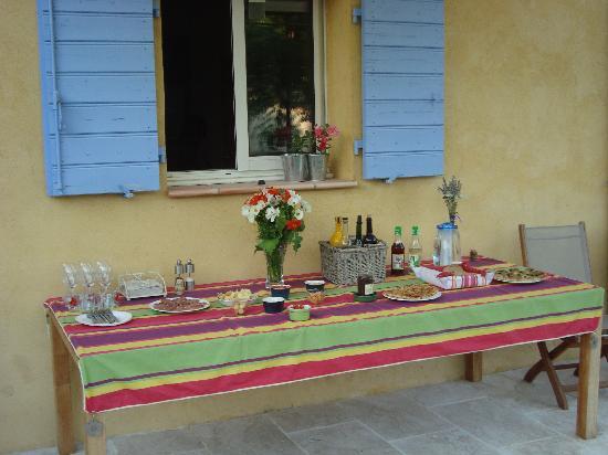 Chambres d'hotes Carpe Diem : Table d'hôte