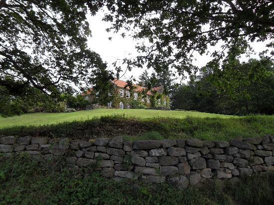 Laskill Country House: another view from the lane