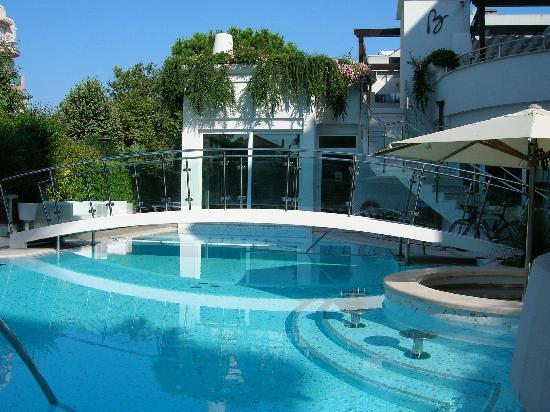Vista piscina hotel belvedere picture of hotel belvedere - Hotel con piscina a riccione ...