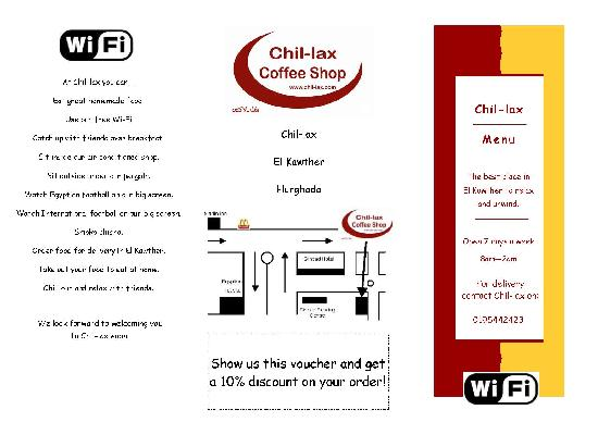 Chil-lax : Location and contact details