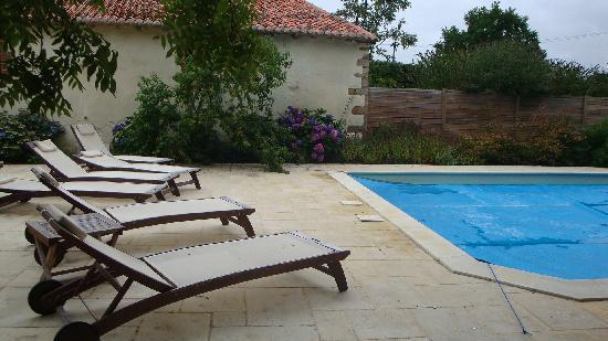 Manoir de la Thebline : piscine