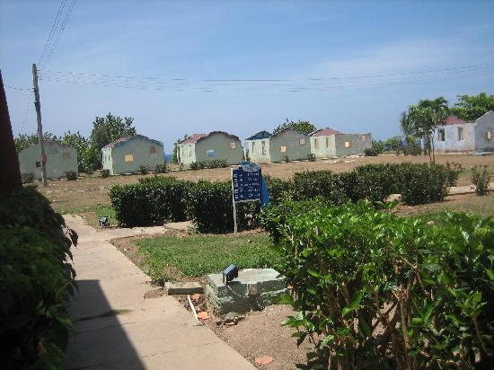 Villa Islazul Yaguanabo: Reste vom Hurrikan