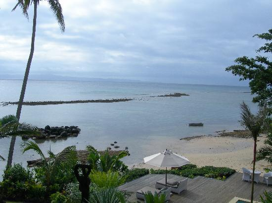 Taveuni Palms Resort: Partial view from deck
