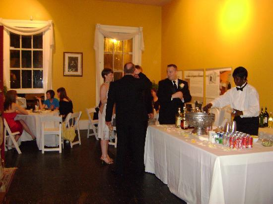 Degas House: Wedding Reception