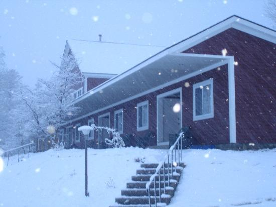 The Stamford Motel & Restaurant: motel in winter