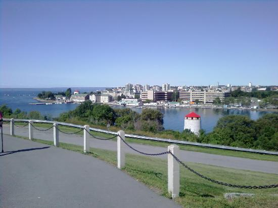 Fort Henry (Fort Henry National Historic Site): View of Kingston from the Fort