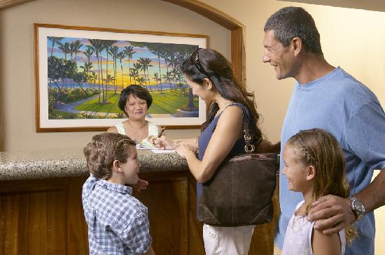 24 Hour Front Desk Services at Kaanapali Alii