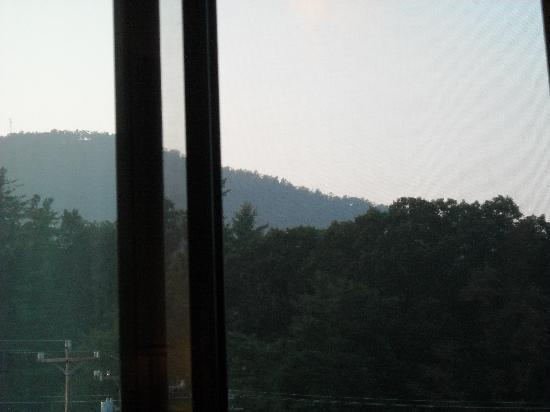 Sleep Inn Boone: View from our hotel window