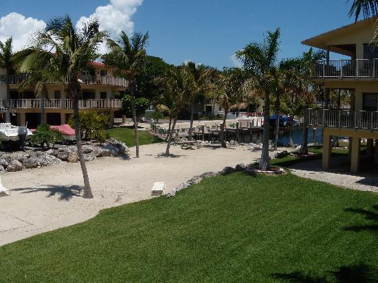 Port Largo Villas: view from deck