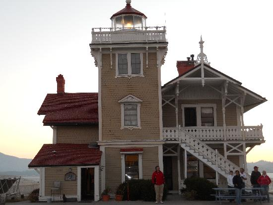 East Brother LIght Station, built in 1872