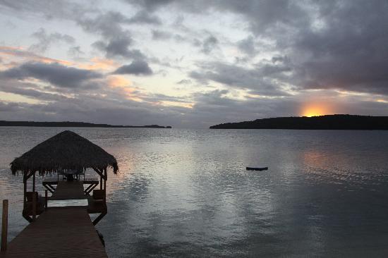 The Havannah, Vanuatu: Specatacular sunset
