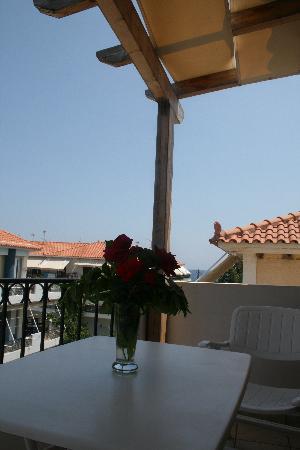 Paralio Astros, Griechenland: Balkoni view
