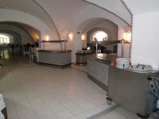 Aparthotel Royale Residence : vue du buffet