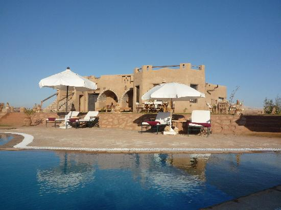 Dakhla, Egypt: Delight in the sun by the pool and spa