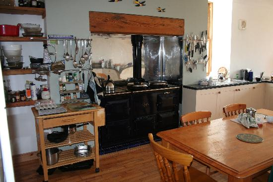 Thorntonloch House: The Kitchen and the Aga