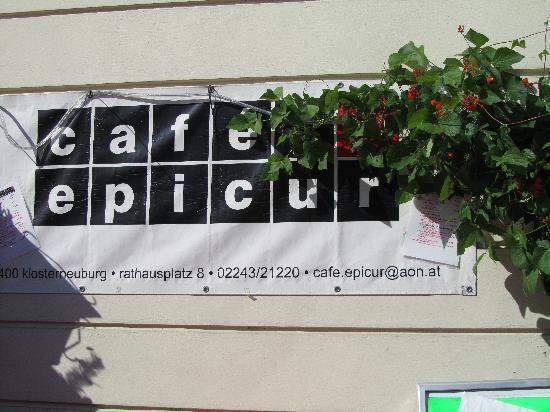 Cafe Epicur: Eingang