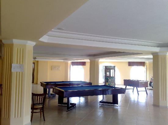 Terra Bodrum Hotel : salle de jeu