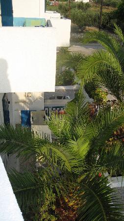Hotel Aeolis : terrasses