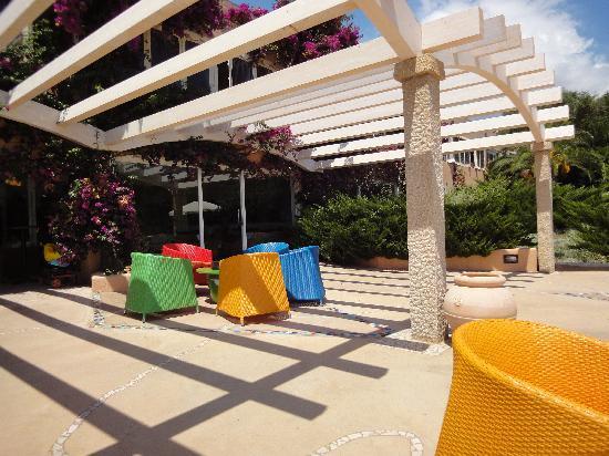 Park Hotel Cala di Lepre & Spa: Bar extérieur