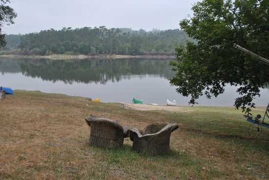 Santa Comba Dao, Portugal: view of lake